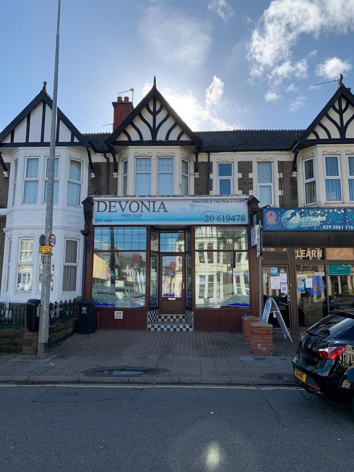 Devonia Fish Bar,  Whitchurch Road, Cardiff